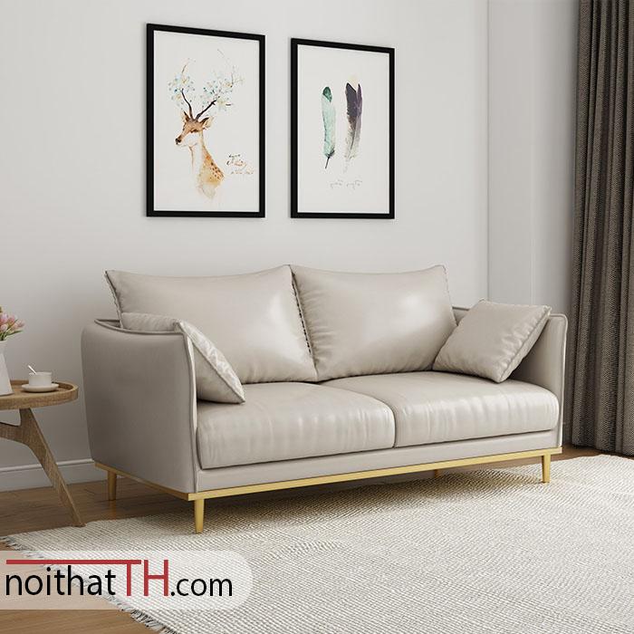 Sofa văng chân kim loại