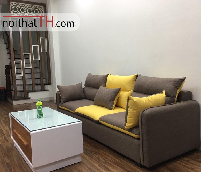 Sofa màu nâu giá rẻ tại hải phòng
